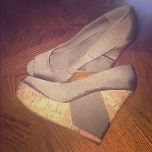 Mossimo Open toed wedges